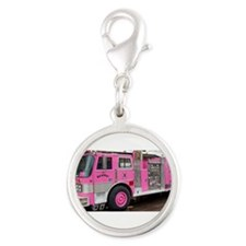 Pink Fire Truck (real) Charms
