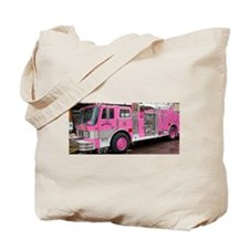 Pink Fire Truck (real) Tote Bag