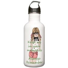 Keep me in your memory Water Bottle