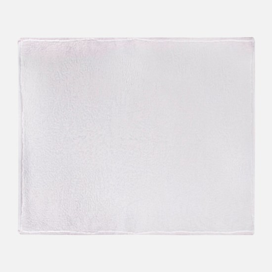 Trap house white Throw Blanket