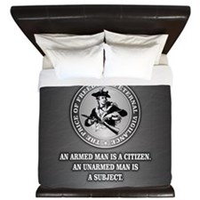 PAT Armed Citizen King Duvet