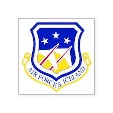 """Unique Iceland Square Sticker 3"""" x 3"""""""