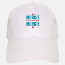 Cuter Morkie Baseball Baseball Cap