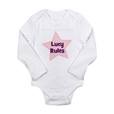 Cute Kids name Long Sleeve Infant Bodysuit