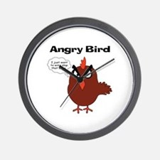 Unique Angry bird Wall Clock