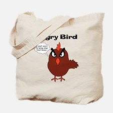 Unique Angry bird Tote Bag