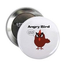 """Cute Angry birds 2.25"""" Button"""