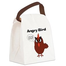 Cute Angry birds Canvas Lunch Bag