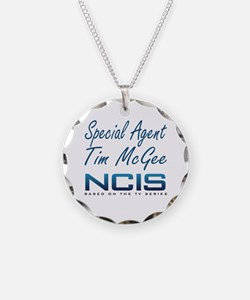 Special Agent Tim McGee Necklace