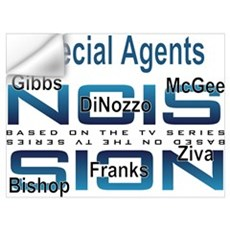 Special Agents of NCIS Wall Decal