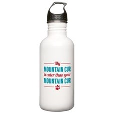 My Mountain Cur Water Bottle