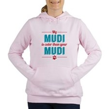 Cuter Mudi Women's Hooded Sweatshirt