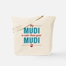 Cuter Mudi Tote Bag