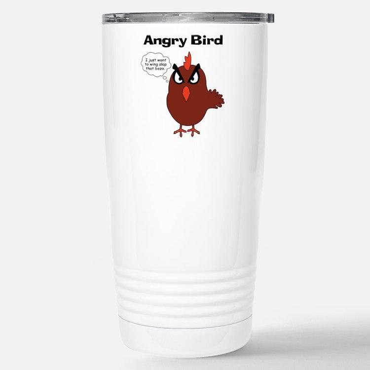 Cute Angry birds Travel Mug