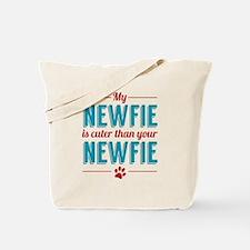 Cuter Newfie Tote Bag