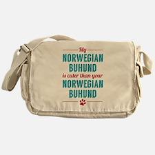 My Norwegian Buhund Messenger Bag