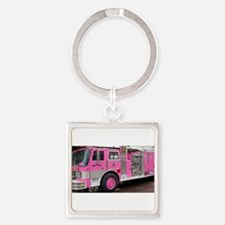 Pink Fire Truck (real) Keychains