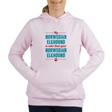 My Norwegian Elkhound Women's Hooded Sweatshirt