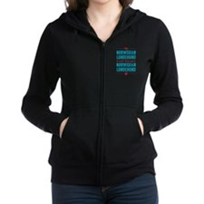 My Norwegian Lundehund Women's Zip Hoodie