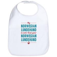 My Norwegian Lundehund Bib