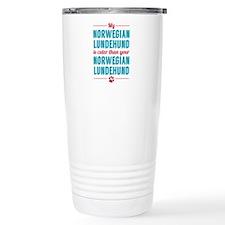 My Norwegian Lundehund Travel Mug
