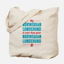 My Norwegian Lundehund Tote Bag
