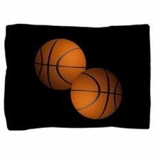 Basketball Pillow Sham
