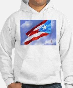 Puerto Rico Flag (abstract style Hoodie
