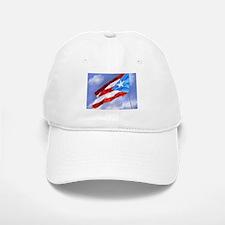 Puerto Rico Flag (abstract style) Baseball Baseball Cap