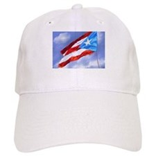 Puerto Rico Flag (abstract style) Baseball Cap