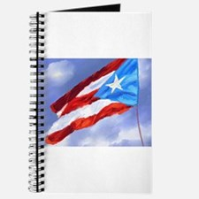 Puerto Rico Flag (abstract style) Journal