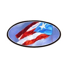 Puerto Rico Flag (abstract style) Patch