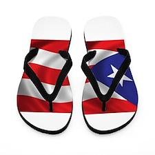 Puerto Rico Flag (bright) Flip Flops