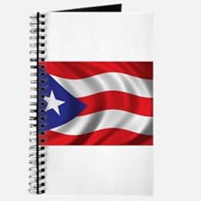 Puerto Rico Flag (bright) Journal