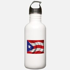 Puerto Rico Flag (brig Water Bottle