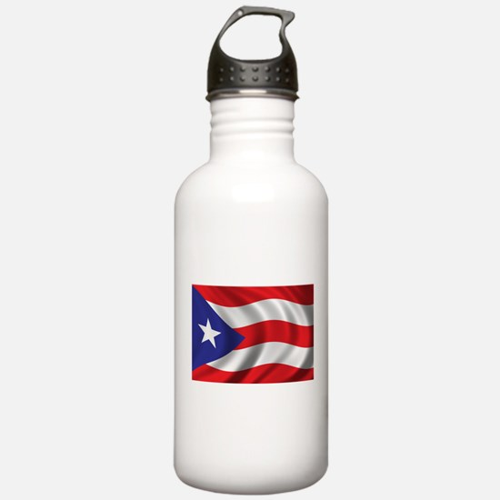 Puerto Rico Flag (brig Water Bottle