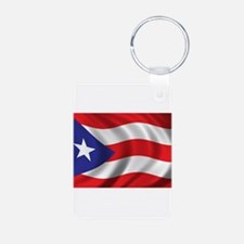 Puerto Rico Flag (bright) Keychains