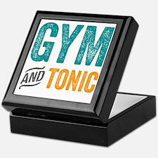 Gym and Tonic Keepsake Box