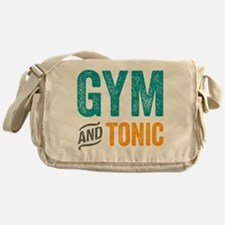 Gym and Tonic Messenger Bag