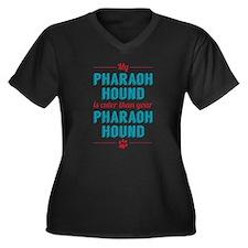 Cuter Pharaoh Hound Plus Size T-Shirt