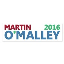Martin O'Malley 2016 Bumper Sticker