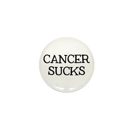 Cancer Sucks Mini Button