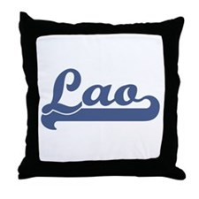 Lao (sport) Throw Pillow