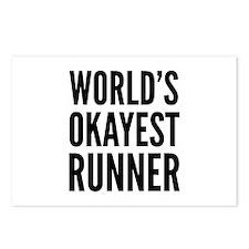 World's Okayest Runner Postcards (Package of 8)
