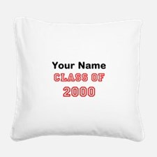 your name Square Canvas Pillow