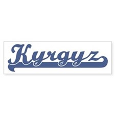 Kyrgyz (sport) Bumper Bumper Sticker