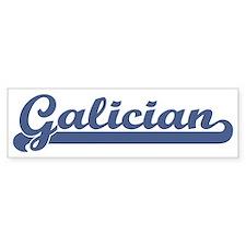 Galician (sport) Bumper Bumper Sticker