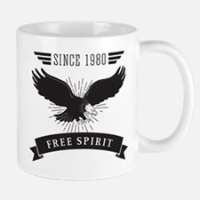 Birthday Born 1980 Free Spirit Mug