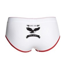 Birthday Born 1980 Free Spirit Women's Boy Brief