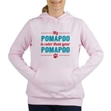 Cuter Pomapoo Women's Hooded Sweatshirt